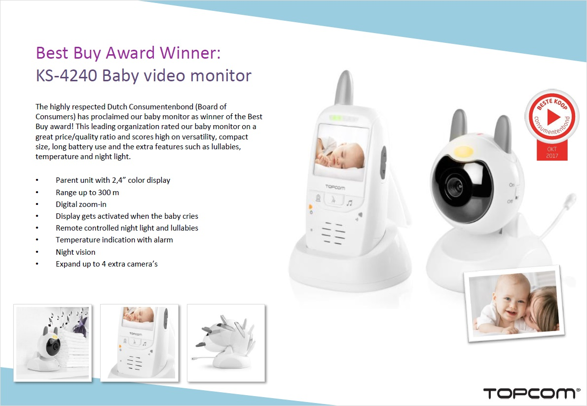 Topcom KS-4240 Best Buy Award